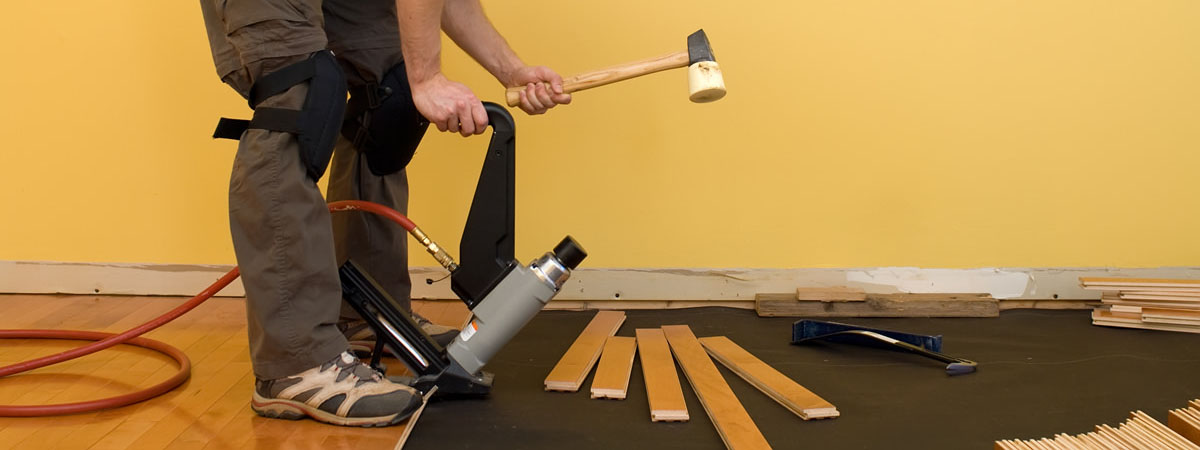Wood Floor Fitting Services